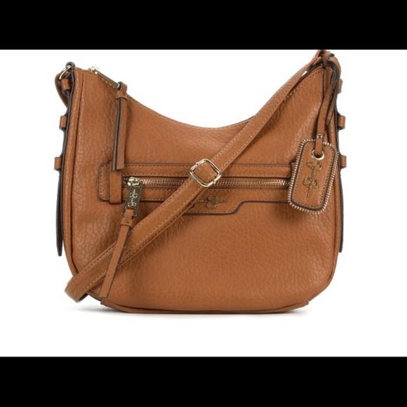 1f433091982 Jessica Simpson Everly Crossbody Bag Cognac NWT NWT